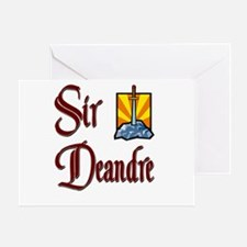 Sir Deandre Greeting Card