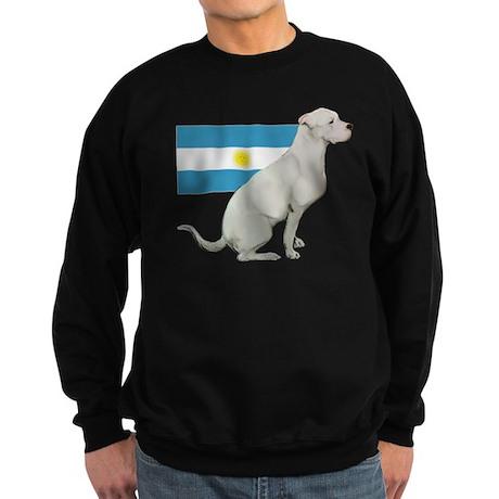 Dogo with Flag Sweatshirt (dark)