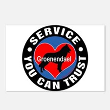 A Groenendael's Heart Postcards (Package of 8)