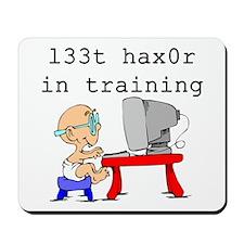 l33t haX0r Mousepad