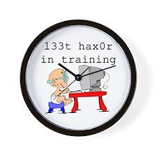 l33t haX0r Wall Clock