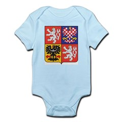 Czech Republic Coat Of Arms Infant Creeper