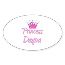 Princess Dayna Oval Decal