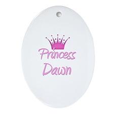 Princess Dawn Oval Ornament
