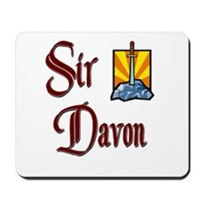 Sir Davon Mousepad