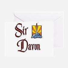 Sir Davon Greeting Card