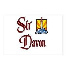Sir Davon Postcards (Package of 8)