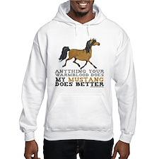 Mustang Horse Hoodie