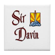 Sir Davin Tile Coaster