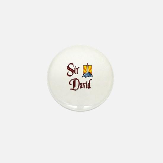 Sir David Mini Button