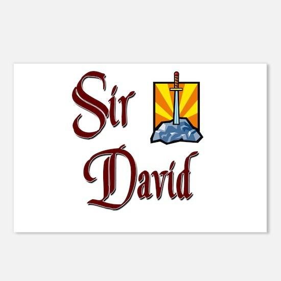 Sir David Postcards (Package of 8)