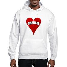 Charlie Heart Hoodie