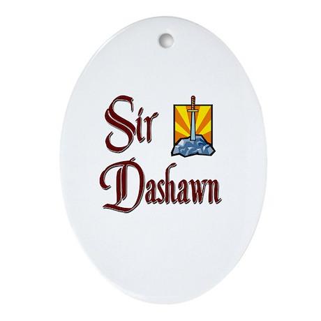 Sir Dashawn Oval Ornament