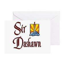 Sir Dashawn Greeting Card