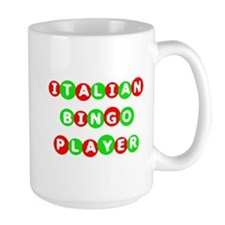 Italian Bingo Player Mug