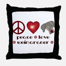 Valentine Weim Love Throw Pillow