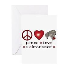 Valentine Weim Love Greeting Card