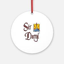 Sir Darryl Ornament (Round)