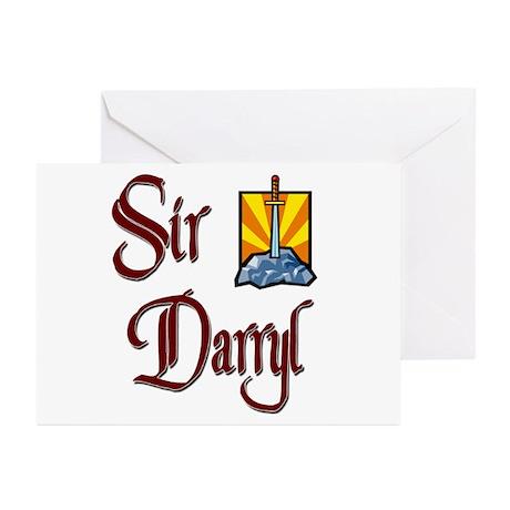 Sir Darryl Greeting Cards (Pk of 20)