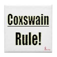 Coxswain Rule Tile Coaster