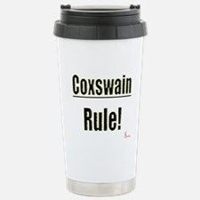 Coxswain Rule Stainless Steel Travel Mug