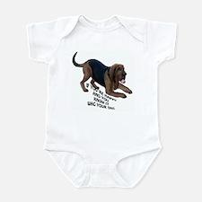 happy bloodhound Infant Bodysuit