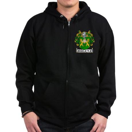 Riley Coat of Arms Zip Hoodie (dark)