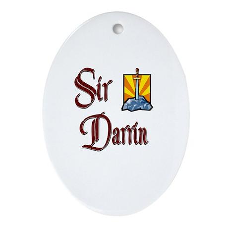 Sir Darrin Oval Ornament