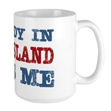 Somebody in Rhode Island Loves Me Mug