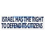 Israel Bumper Sticker (10 pk)