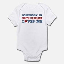 Somebody in South Carolina Loves Me Infant Bodysui