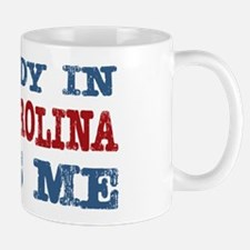 Somebody in South Carolina Loves Me Mug