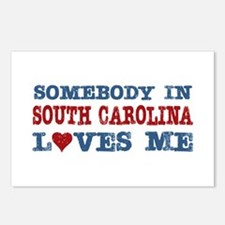 Somebody in South Carolina Loves Me Postcards (Pac