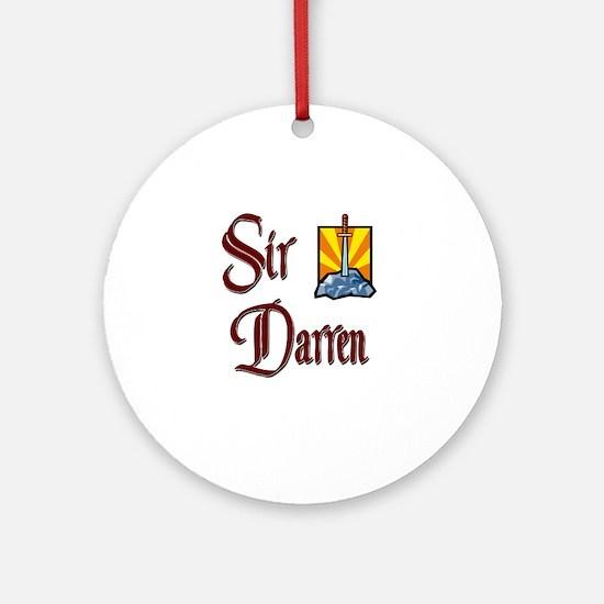 Sir Darren Ornament (Round)