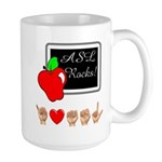 Teacher Male Large Mug