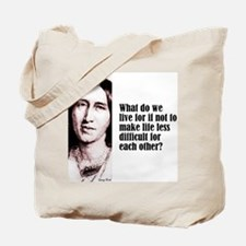 "Eliot ""Live For"" Tote Bag"