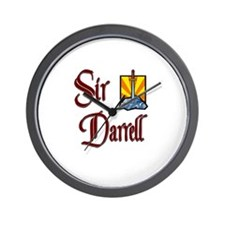 Sir Darrell Wall Clock