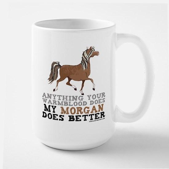 Morgan Horse Large Mug