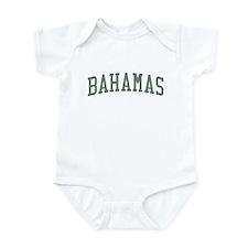 Bahamas Green Onesie