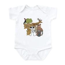 Feed the Animals Infant Bodysuit