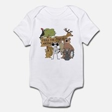 Feed the Animals Infant Bodysuit