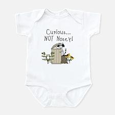 Curious Raccoon Infant Bodysuit