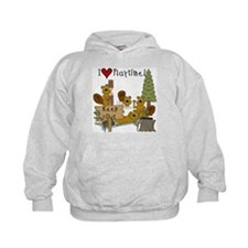 I Love Playtime Hoody