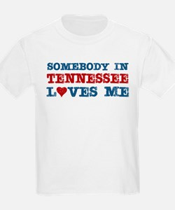 Somebody in Tennessee Loves Me T-Shirt