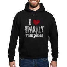 I Love Sparkly Vampires Hoodie