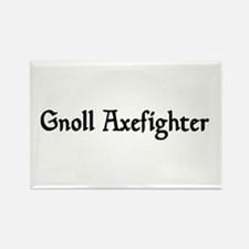 Gnoll Axefighter Rectangle Magnet