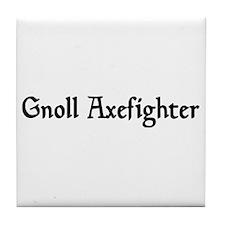 Gnoll Axefighter Tile Coaster