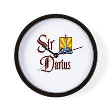 Sir Darius Wall Clock