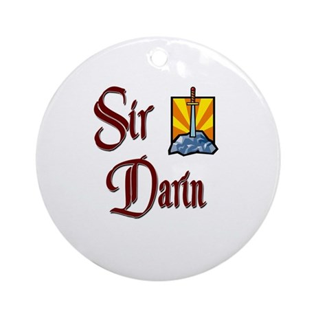Sir Darin Ornament (Round)
