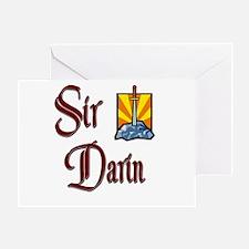 Sir Darin Greeting Card
